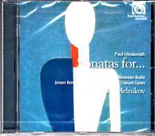 HINDEMITH - SONATAS FOR... CD ALEXANDER MELNIKOV