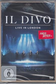 IL DIVO - IL DIVO LIVE IN LONDON DVD