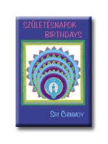 Sri Chinmoy - Születésnapok - Birthdays