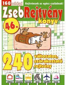 CSOSCH KIADÓ - ZsebRejtvény Könyv 46.