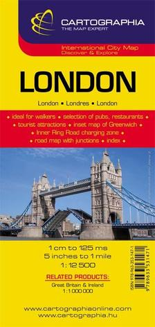 Cartographia - London várostérkép `SC`új