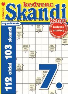 CSOSCH KIADÓ - Kedvenc Skandi Könyv 7.