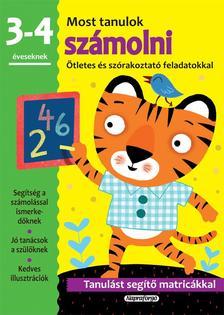 - Most tanulok... számolni (3-4 éveseknek)
