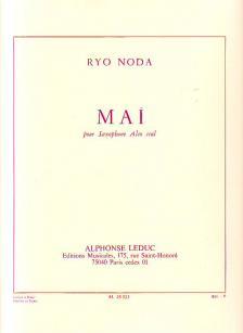 NODA, RYO - MAI POUR SAXOPHONE ALTO SEUL