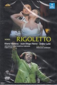 Verdi - RIGOLETTO DVD DAMRAU, FLÓREZ, LUCIC