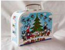 . - Bogyó és Babóca karácsonyi bőrönd