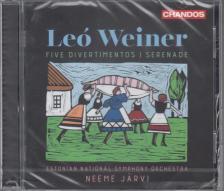 WEINER LEÓ - SERENADE/DIVERTIMENTOS,CD NEEME JARVI