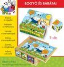 . - Bogyó és Babóca: Bogyó és barátai 9 db-s fakocka