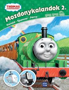 - Thomas - Mozdonykalandok 2. Harold, Spencer és Percy