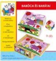 . - Bogyó és Babóca: Babóca és barátai 9 db-s fakocka