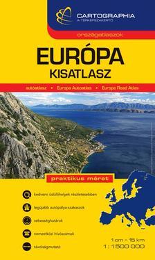 Cartographia - EURÓPA KISATLASZ - 1:1.500.000 - CART.