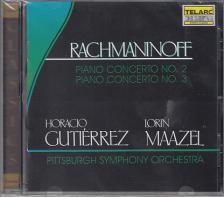 RACHMANINOFF - PIANO CONCERTO NO. 2,3 CD GUTIÉRREZ