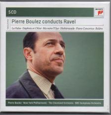 RAVEL... - PIERRE BOULEZ CONDUCTS RAVEL 5CD