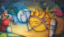 Népmese. Válogatta: Bajzáth Mária - A Nap és a Hold (cigány mesék)