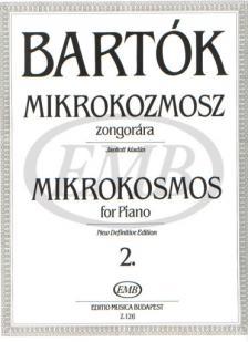 Bartók - MIKROKOZMOSZ ZONGORÁRA 2