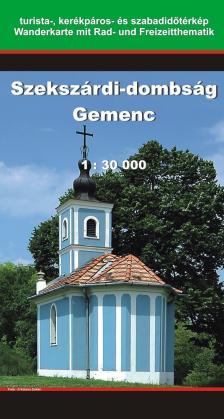 - SZEKSZÁRDI-DOMBSÁG / GEMENC TURISTATÉRKÉP 1:30000