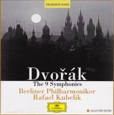 DVORAK - THE 9 SYMPHONIES 6CD KUBELIK, BERLINER PHILHARMONIKER