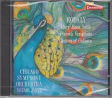 Kodály - HÁRY JÁNOS SUITE, PEACOCK V., DANCES OF GALÁN. CD