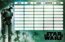 12404 - Órarend nagy Star Wars Rogue One Team 17500803