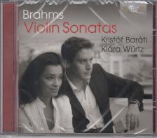 BRAHMS - VIOLIN SONATAS CD BARÁTI KRISTÓF, WÜRTZ KLÁRA