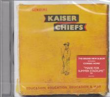 - EDUCATION, EDUCATION, EDUCATION & WAR CD KAISER CHIEFS