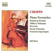 Chopin - PIANO FAVOURITES CD IDIL BIRET