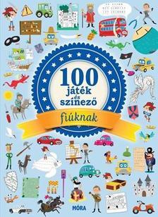 - 100 játék és színező fiúknak