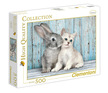 - Clementoni Puzzle 500 Nyuszi és cica