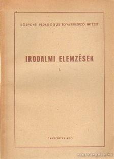 Miklós Róbert - Irodalmi elemzések I. [antikvár]