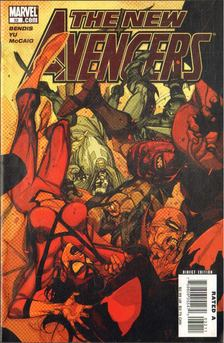 Bendis, Brian Michael, Yu, Leinil Francis - New Avengers No. 32 [antikvár]