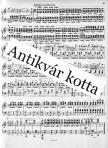 WOLF, E.W. - FIVE SONATAS FOR PIANO (OBERDOERFER),  ANTIKVÁR