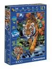- Clementoni Puzzle 1000 Tigris