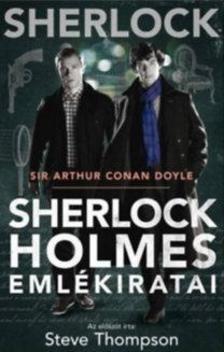 Arthur Conan Doyle - Sherlock Holmes emlékiratai - BBC filmes borító