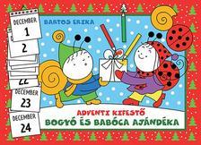 Bogyó és Babóca ajándéka-adventi kifestő #