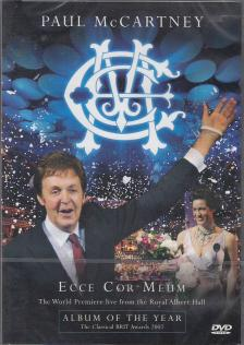 ECCE COR MEUM DVD PAUL McCARTNEY