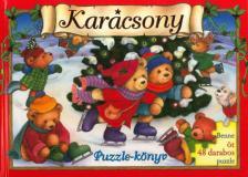 - Karácsony puzzle-könyv