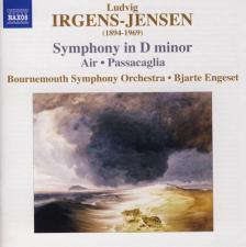 IRGENS-JENSEN - SYMPHONY IN D MINOR,CD