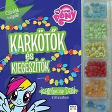 - My Little Pony - Karkötők és kiegészítők Rainbow Dash stílusában - Gyöngykészlettel