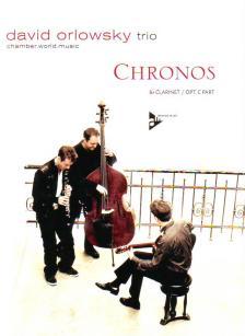 ORLOWSKY, DAVID - CHRONOS Bb CLARINET MIT OPT. C STIMME