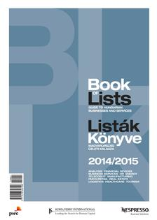.. - Book of lists - Listák Könyve 2014-2015