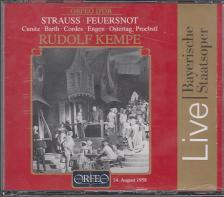 STRAUSS RICHARD - FEUERSNOT 2CD RUDOLF KEMPE