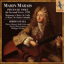 MARAIS, MARIN - PIECES DE VIOLEDU SECOND LIVRE, 1701 CD