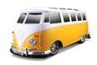 - Maisto RC távirányítású játék autó - 1:10 Volkswagen Van Samba