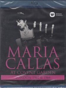 VERDI, BIZET, PUCCINI - AT COVENT GARDEN - LONDON 1962 & 1964 BLU-RAY MARIA CALLAS