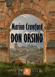 Crawford, F. Marion - Don Orsino [eKönyv: epub, mobi]