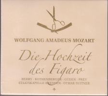 MOZART - DIE HOCHZEIT DES FIGARO 2CD SUITNER, BERRY, ROTHENBERGER, GÜDEN, PREY
