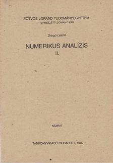 Dringó László - Numerikus analízis II. [antikvár]