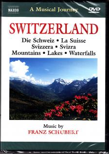 SCHUBERT - SWITZERLAND - MOUNTAINS - LAKES - WATERFALLS DVD