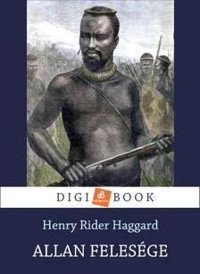 Haggard Henry Rider - Allan felesége [eKönyv: epub, mobi]