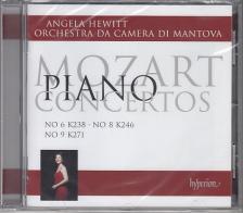 MOZART - PIANO CONCERTOS CD MOZART